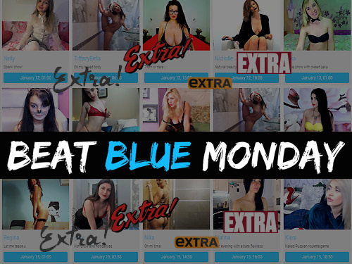 Beat Blue Monday!!